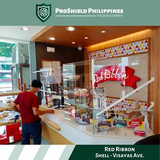 Counter Dividers at Red Ribbon Visayas Ave.