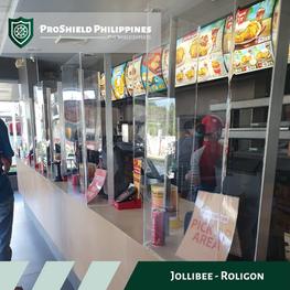 Counter Shields at Jollibee Roligon