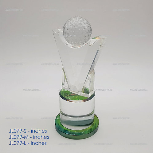 JL079 - Golf Crystal Trophy Series