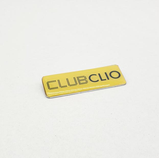 Clio Nameplate