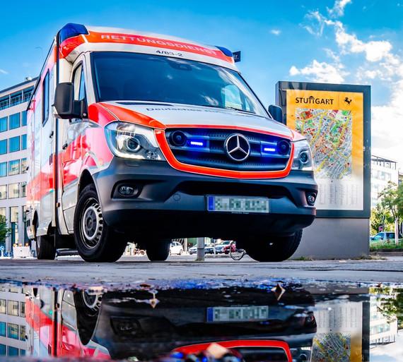 Ambulance Reflective Stickers
