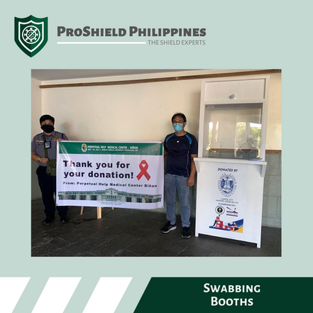 Custom Swabbing Booths for Perpetual Help Medical Center - Biñan