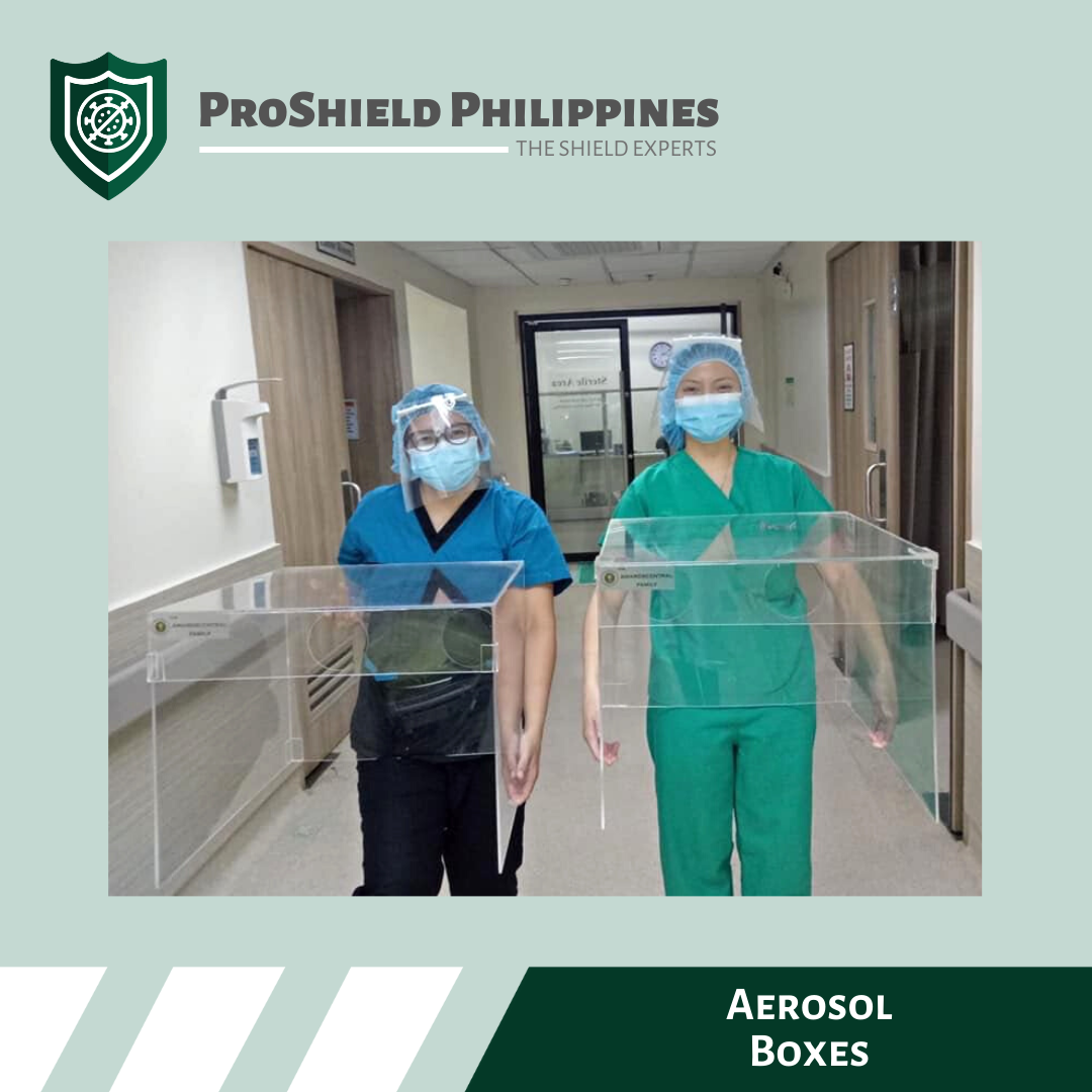 Aerosol Boxes for Seamen's Hospital