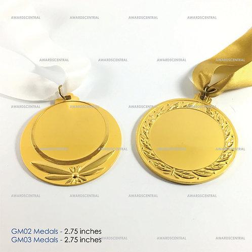 GM02 & GM03 Medals
