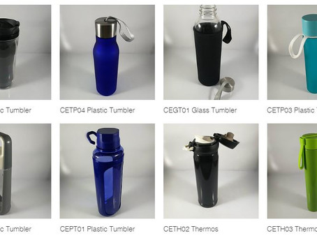 New Promotional Giveaway Tumblers and Thermos range on our website