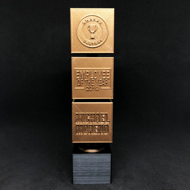 3D Stacked Trophy