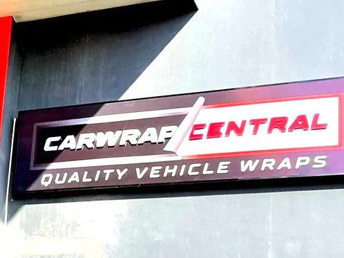Automotive Backlit Signage