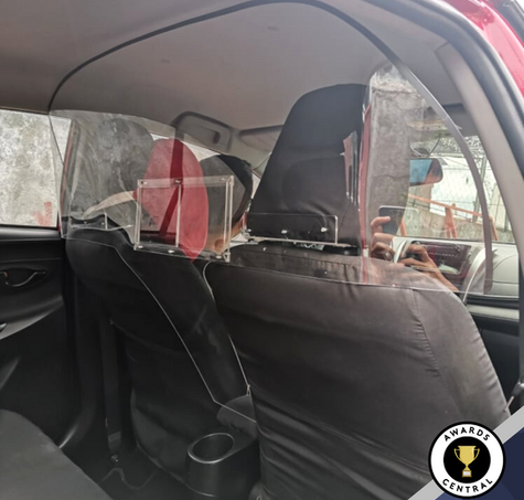 Rideshare / Taxi Safety Partition
