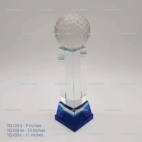TG103 - Golf Crystal Trophy Series