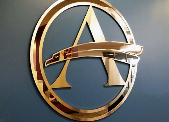 Custom Brass Sign