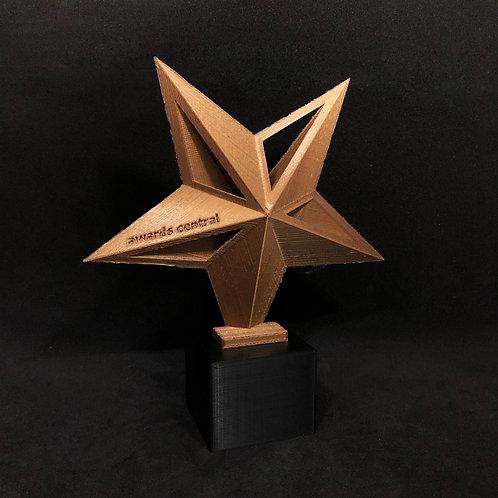 3D Star Trophy