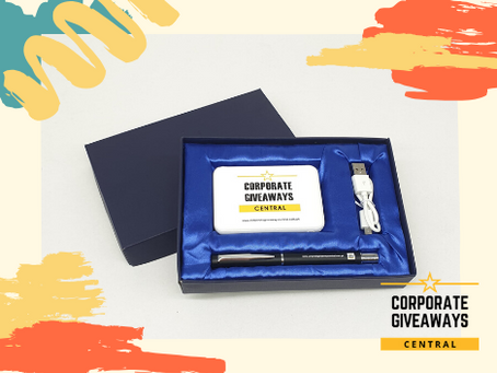 New! Premium Gift Sets by Corporate Giveaways Central