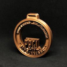 3D Round Medal