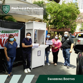 Swabbing booth delivered to PGH