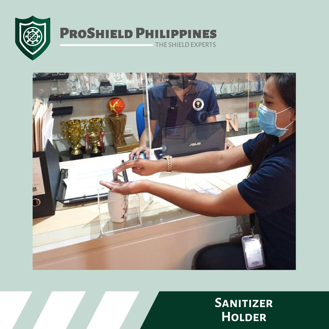 Acrylic Hand Sanitizer Holder