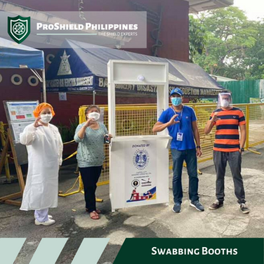 Swabbing booth delivered to UP Health Services