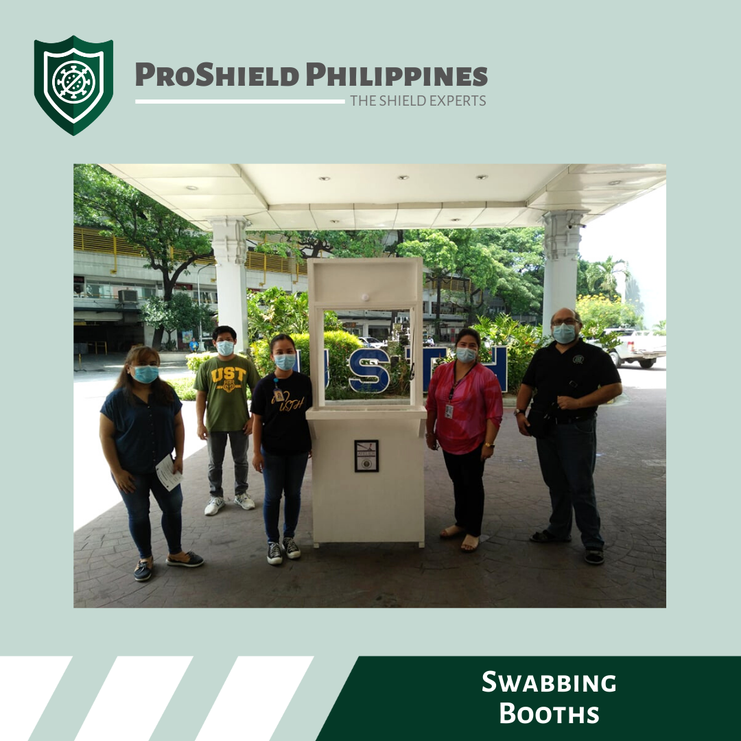 Custom Swabbing Booths for UST Hospital