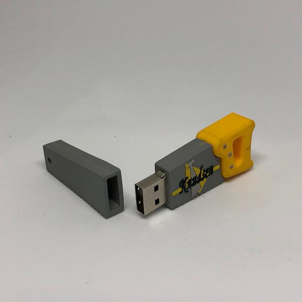 Rubber USB Drive (2)