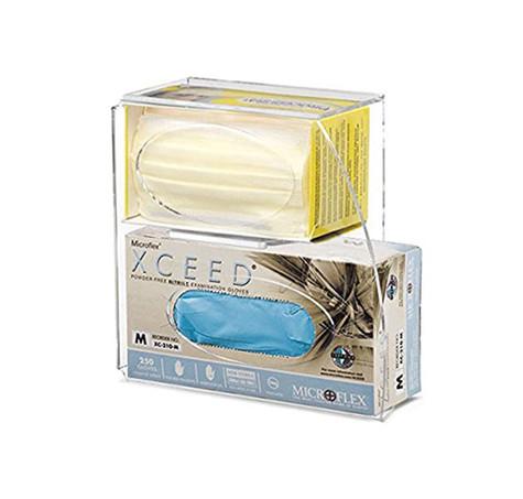 Acrylic Mask & Gloves Dispenser