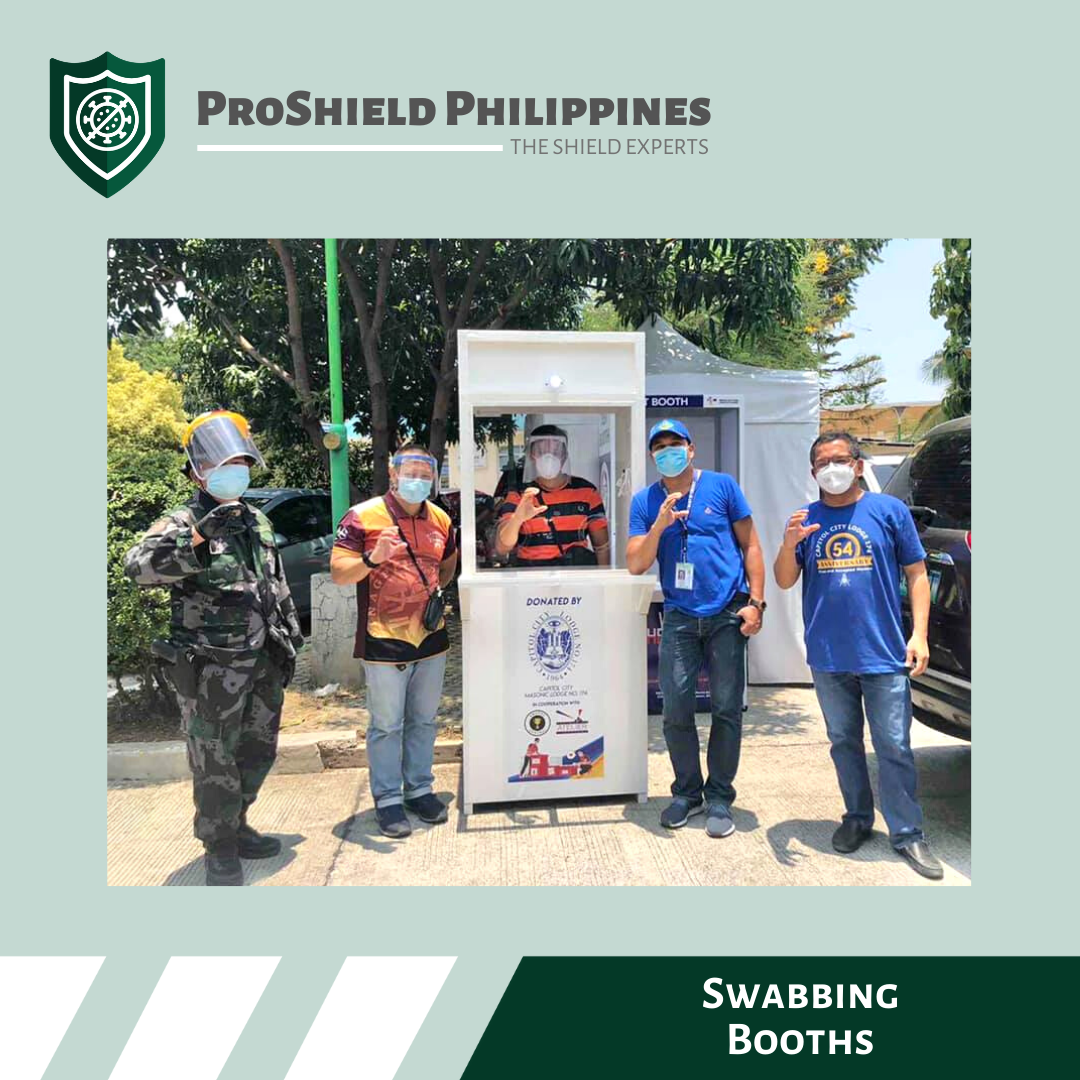 Custom Swabbing Booths for Novaliches District Hospital