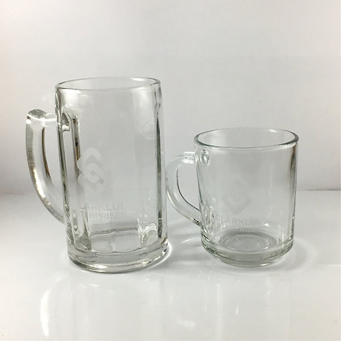 Customized Glass Mugs