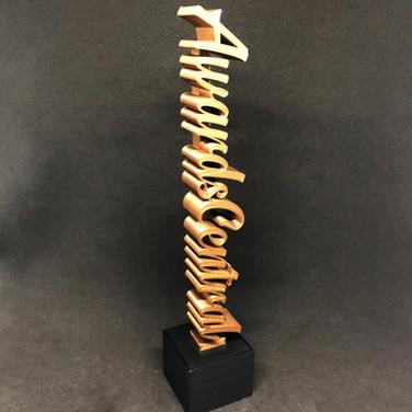 3D Handwritten Award