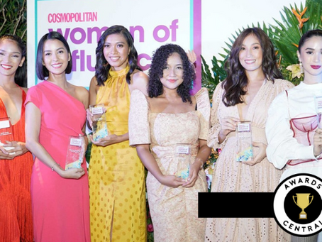 Proudly Pinay: Awards Central Crystal Plaques at The Women of Influence Awards 2019