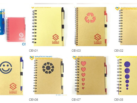 Customized or Personalized Notebooks by Clarklui Enterprises