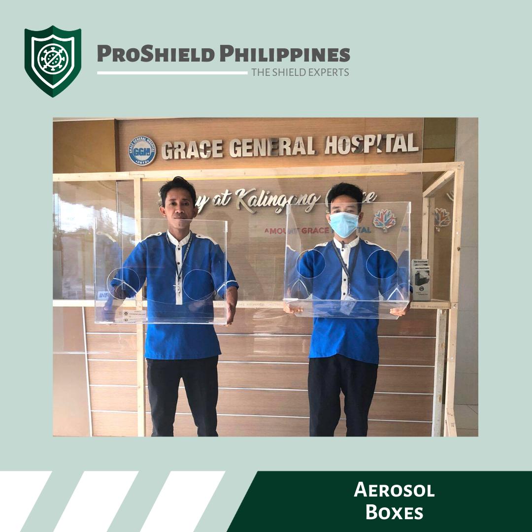 Aerosol Boxes for Grave General Hospital