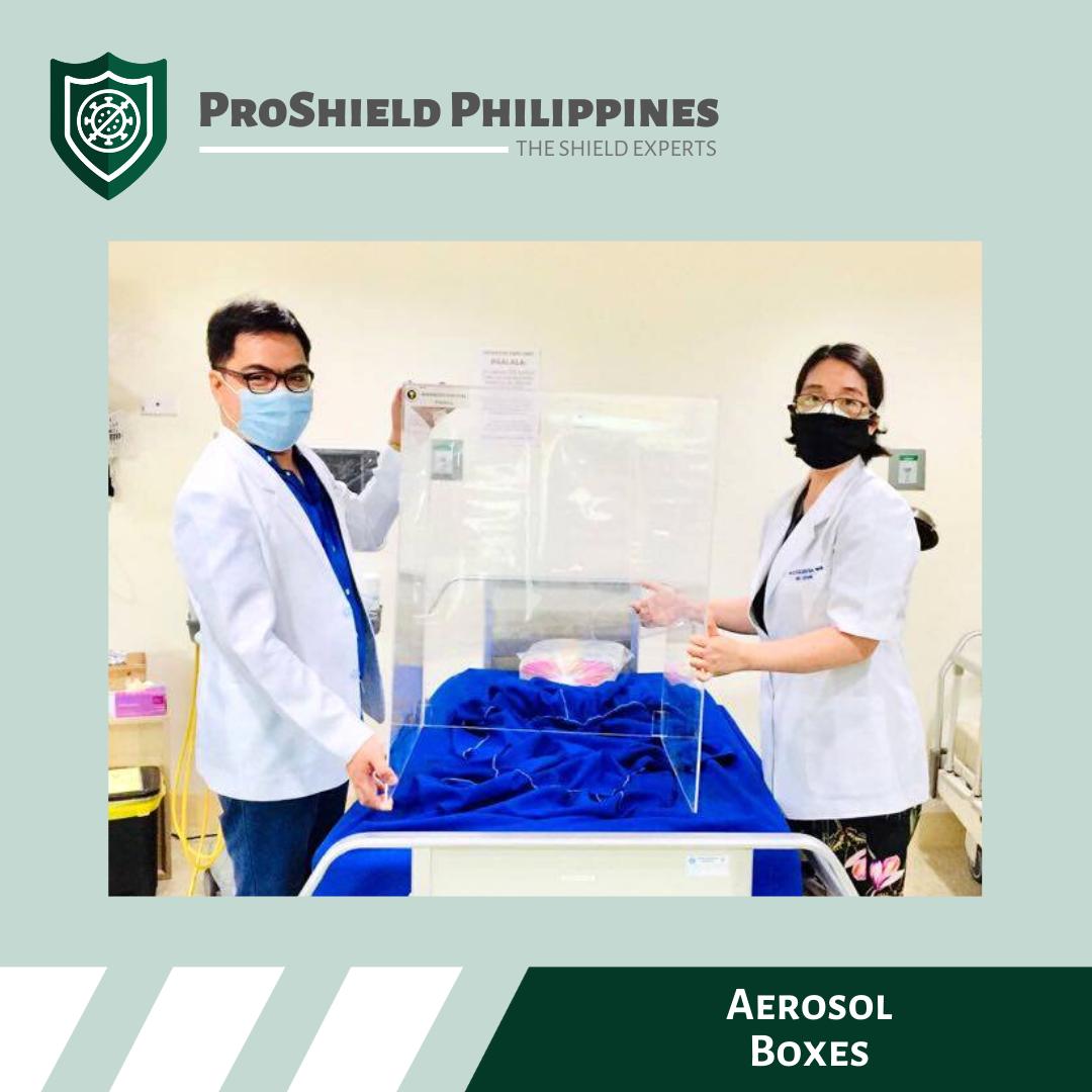 Aerosol Boxes for Fe Del Mundo Medical Center