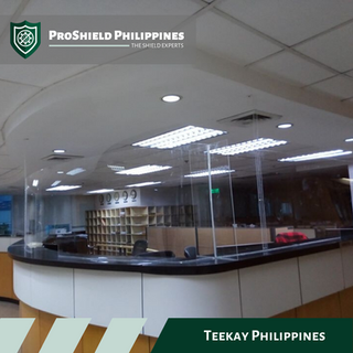 Counter Shields at Teekay Philippines