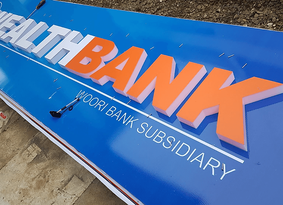 Panaflex with Acrylic Sign