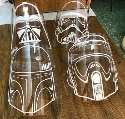Custom Face Shield