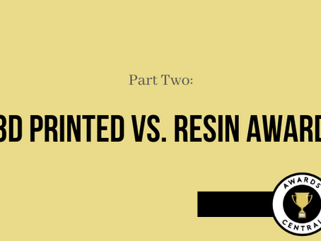 Finding the One: Should I go for 3D or Resin Award?