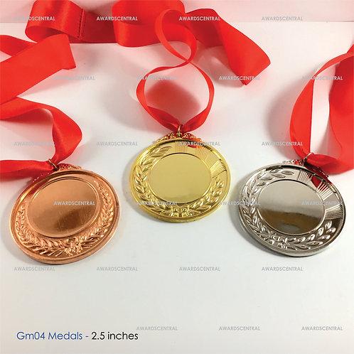 GM04 Medals