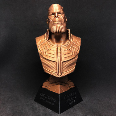 3D Bust Trophy
