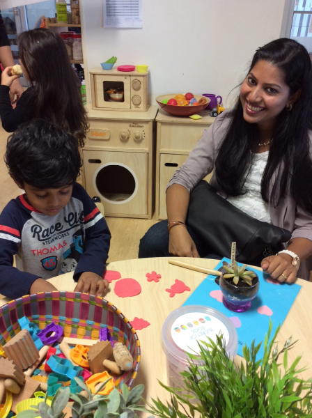 We celebrated Mother's Day here at the centre. We participated in activities and ate a lovely afternoon tea with our mums.