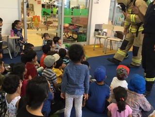 Parramatta - Fire Brigade Visit