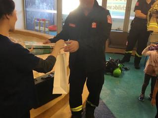 Parramatta - Firefighter Visit