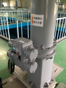 DHP Linear Actuator in Water Treatment Facility