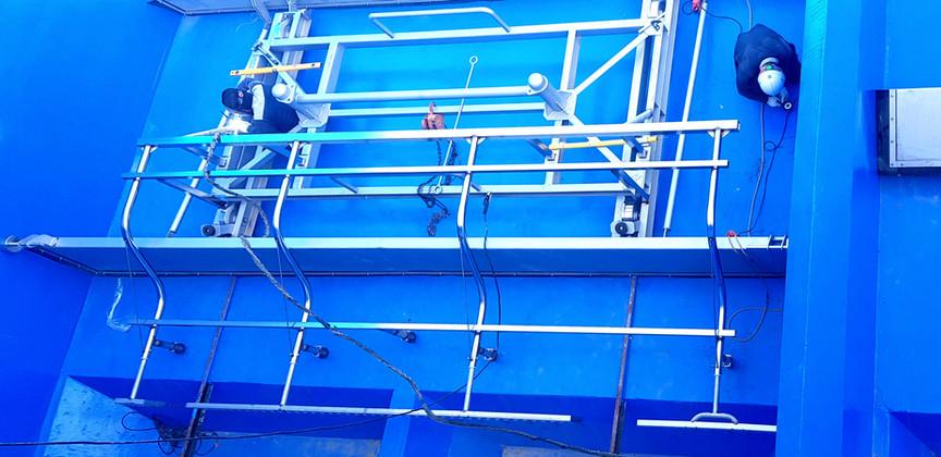 Sludge Drainage System: Auxiliary Scraper