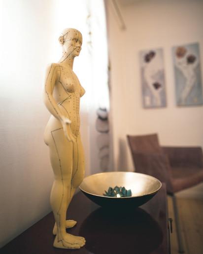 Akupunktur-Medridiane