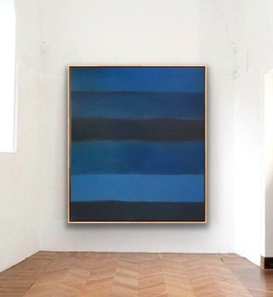 "Oil On Canvas 68"" x 60"""
