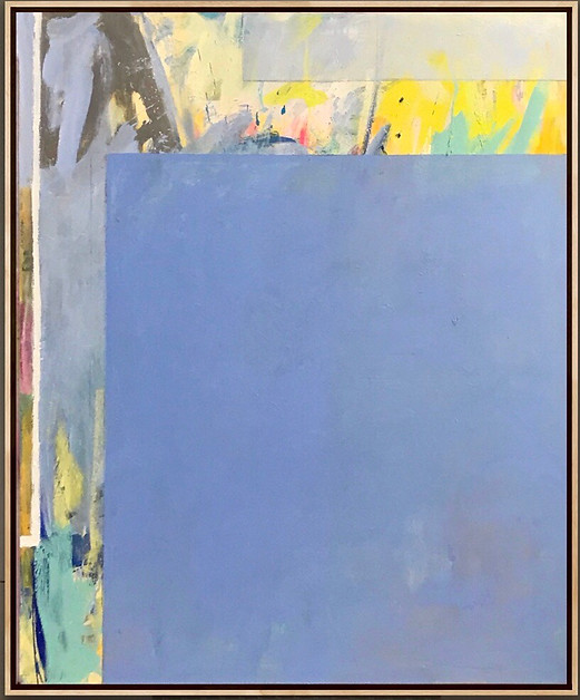 """Oil on Canvas 60"""" x 50"""" Touch To Open Installation Image"""