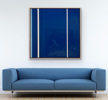 """Oil on Wood Panel 60"""" x 60"""""""
