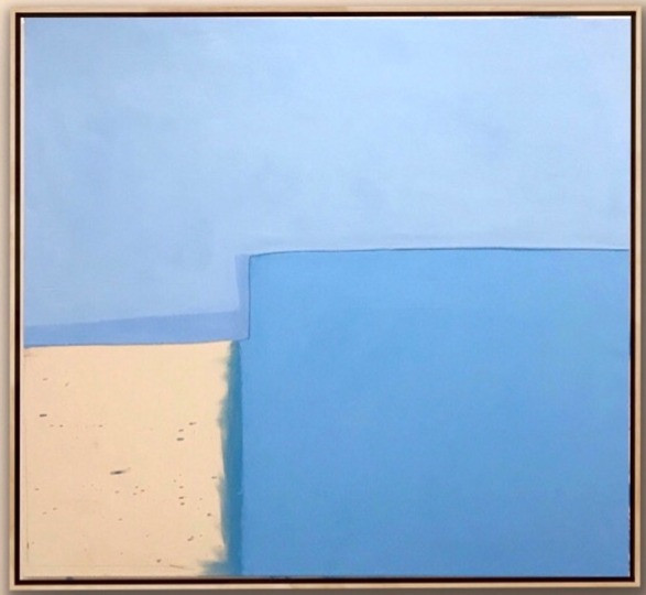 """Oil on Canvas 60"""" x 56"""" Touch To Open Installation Image"""