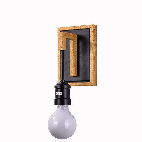 מנורת קיר מרס עץ