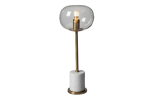 מנורת שולחן בטון פליז