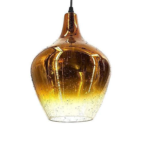 זכוכית טיפות זהב אנטיקה