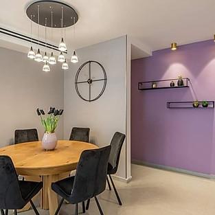 תאורת דירה- עיצוב מגי דוידוב